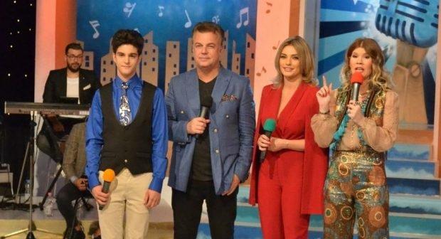 Cei doi copii ai lui Adrian Enache, prima apariție împreună la TV. David și Diana și-au făcut tatăl mândru