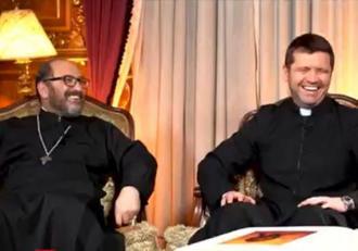 """Preotul Francisc Doboş, mesaj ironic pentru preotul care a spus că vaccinul provoacă apariţia solzilor: """"La testul pentru anticorpi mi-au zărit câţiva solzi! Mi-au prescris aghiazmă"""""""