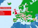 Toate destinaţiile turistice europene preferate de români au ieşit de pe lista cu risc epidemiologic crescut