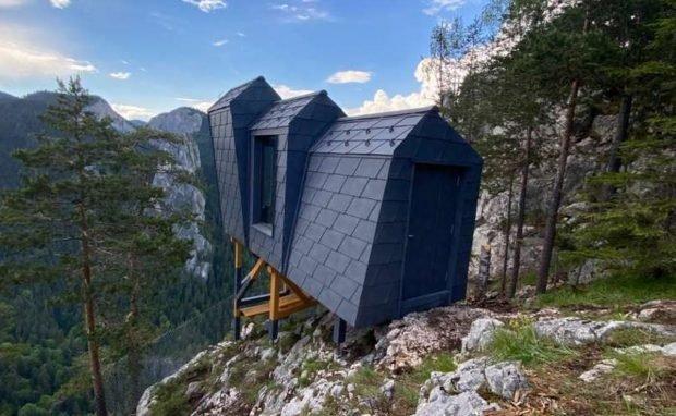 Refugii montane panoramice, montate în Parcul Național Cheile Bicazului-Hășmaș, la peste 1.000 m altitudine