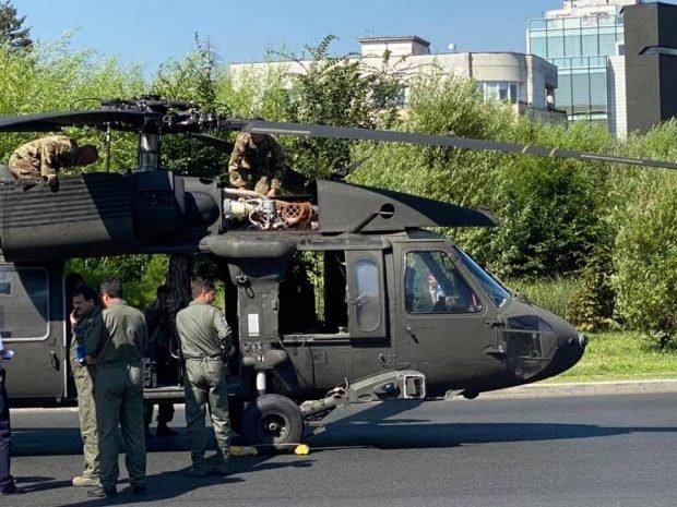 Reacția Ambasadei SUA la București după incidentul aviatic în care a fost implicat un elicopter militar american