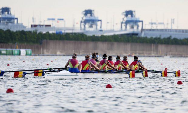 Barca de 8+1, la 3 secunde de medalie. Fetele stabiliseră cel mai bun timp al anului în recalificări