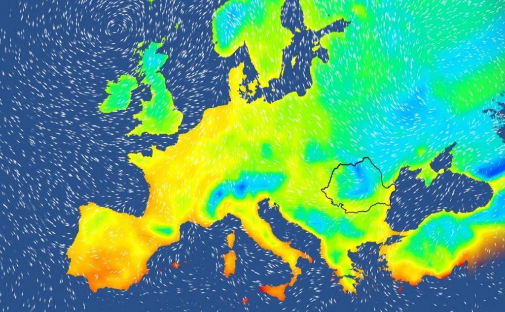 Val de frig în România, de mâine. Temperaturile ar urma să ajungă aproape de limita îngheţului