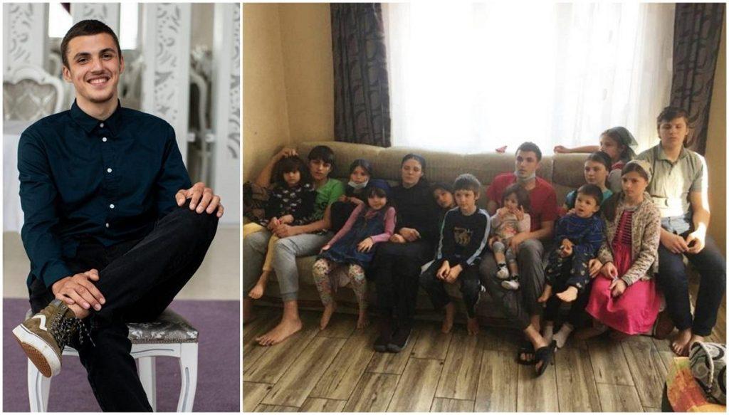 12 copii din Dej, frânți de durere. După 6 luni de la moartea tatălui, s-a stins și fratele lor mai mare. Băiatul a căzut cu parapanta pe firele de înaltă tensiune
