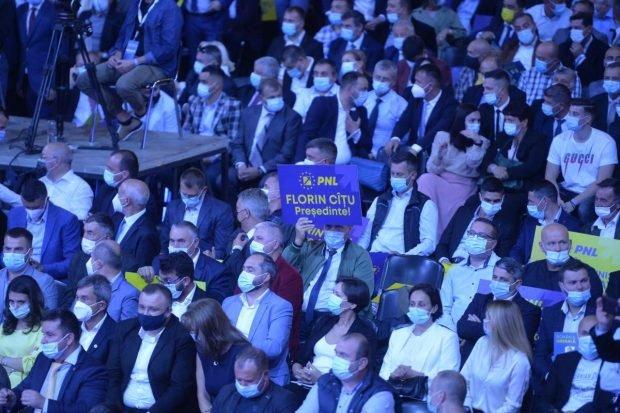 PNL a fost amendat cu 10.000 de lei pentru congresul cu 5.000 de delegați din weekend
