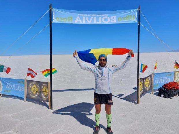 Pompierul Iulian Rotariu, din Botoșani, a câştigat ultramaratonul organizat în Anzii Cordilieri. A alergat 220 de kilometri în șapte zile