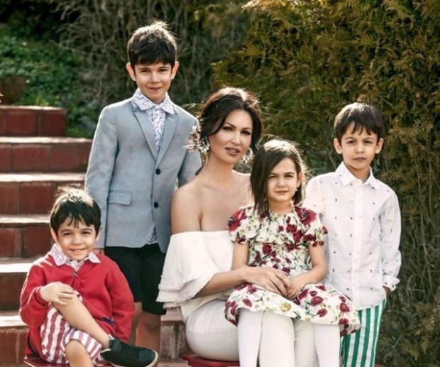 Nicoleta Luciu se mândrește cu cei patru copii. Ce activități au la Miercurea Ciuc