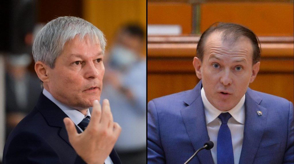 """Dacian Cioloş îl atacă pe Florin Cîțu: """"Am făcut pur şi simplu terapie cu un om care nu se poate dezlipi de putere"""""""