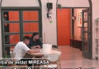 """Război între Victor și Alex la Mireasa, capriciile iubirii. Care a fost motivul neînțelegerii celor doi concurenți: """"Lasă-mă, că te bat"""" / VIDEO"""