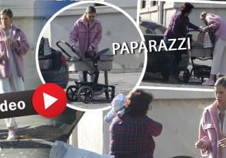 Gabriela Prisăcariu nu a uitat de momentele de răsfăț, chiar dacă este o proaspătă mămică! Imagini unice cu soția prezentatorului Dani Oțil și fiul lor / PAPARAZZI